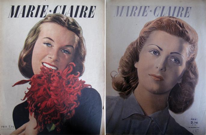 Marie-Claire et la guerre, le rôle d'accompagnement de la presse féminine